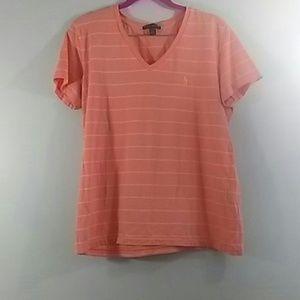 Ralph Lauren Orange T-shirt Size XL